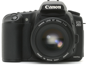 My current DSLR is a Canon EOS-20D